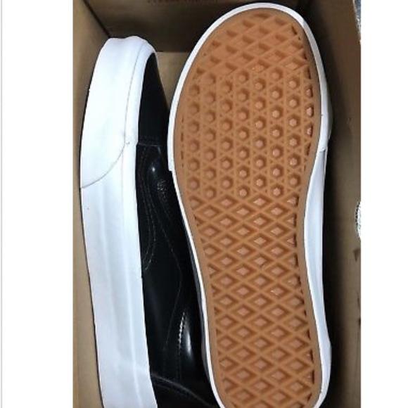 Vans Old Skool Zip DX Smooth Leather Black Classic